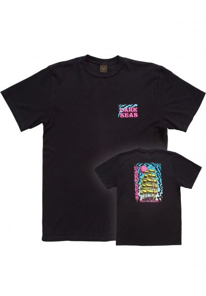 Dark Seas T-Shirts Visual Voyage Select Tee Women black vorderansicht 0322119