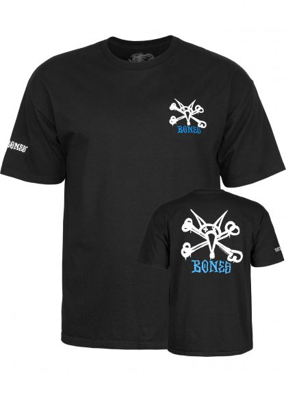 Powell-Peralta T-Shirts Rat Bones black Vorderansicht