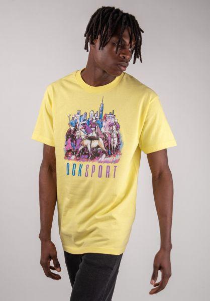 DGK T-Shirts Ghetto Games banana vorderansicht 0320277