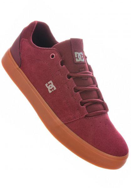 DC Shoes Alle Schuhe Hyde burgundy vorderansicht 0604945