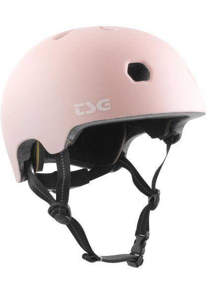 TSG Helme Meta Solid Color satin macho pink vorderansicht 0750123