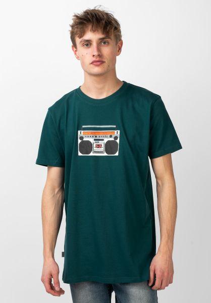 Wemoto T-Shirts Blaster darkgreen vorderansicht 0321392