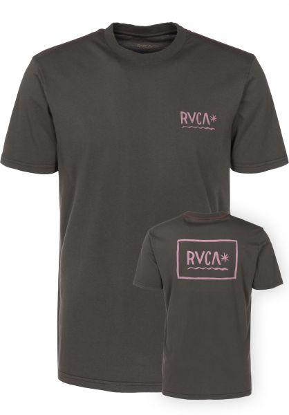 RVCA T-Shirts RVCA Squig greyskull Vorderansicht