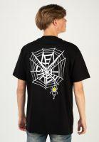 key-street-t-shirts-smile-spider-black-vorderansicht-0324095