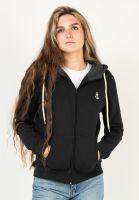 rebel-rockers-zip-hoodies-girl-anchor-triblend-black-vorderansicht-0454873