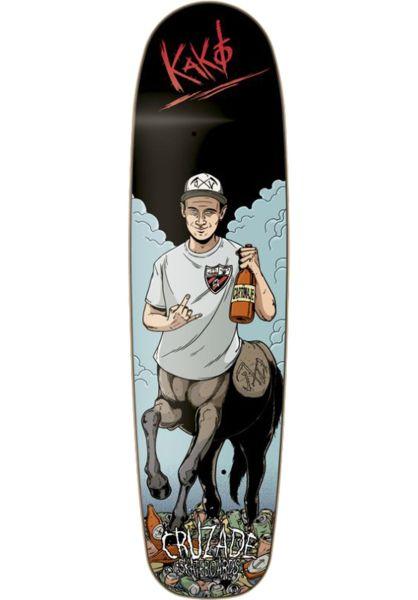 Cruzade Skateboard Decks Kako Guess multicolored vorderansicht 0262243