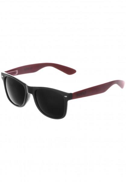 Zunny Sonnenbrillen Standard black-burgundy-black Vorderansicht