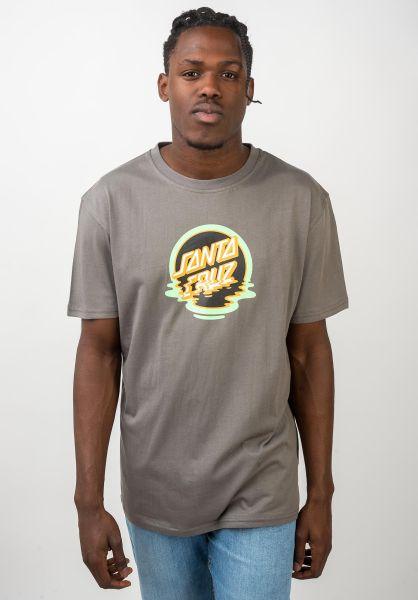 Santa-Cruz T-Shirts Dot Reflection steel vorderansicht 0320439