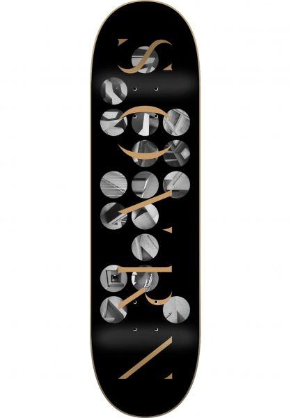 SOVRN Skateboard Decks 1952 black vorderansicht 0266593