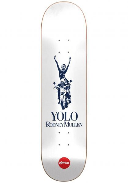 Almost Skateboard Decks Mullen Runway R7 white vorderansicht 0265842