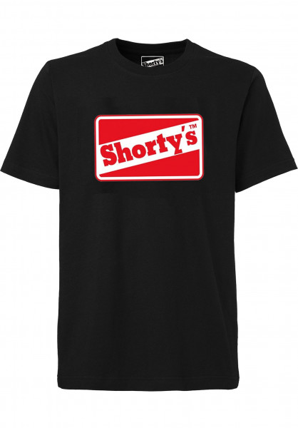 Shortys T-Shirts OG Logo black Vorderansicht