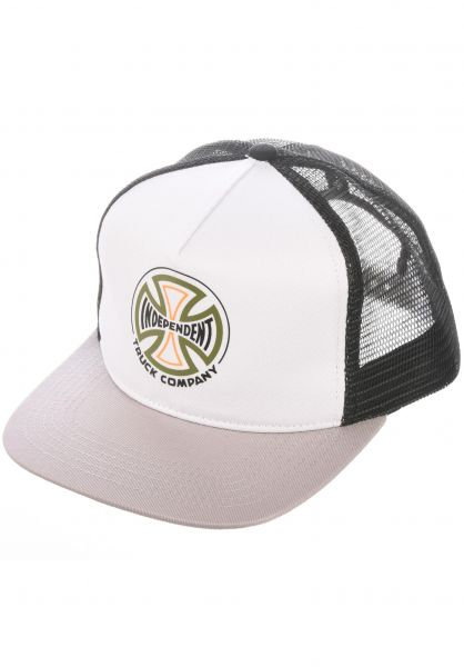 Independent Caps Converge Mesh lightgrey-black vorderansicht 0566787