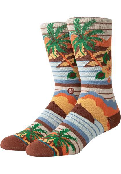 Stance Socken Kekaha brown vorderansicht 0631715