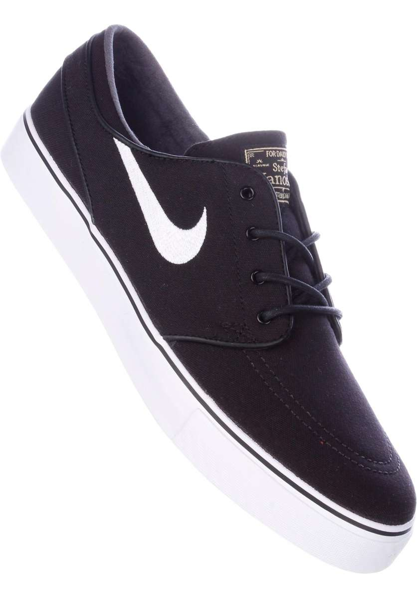 official site various design online for sale Zoom Stefan Janoski CNVS Nike SB Alle Schoenen in black-white voor ...