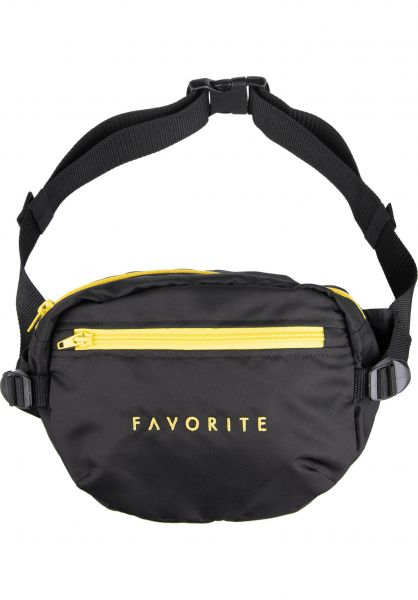Favorite Hip-Bags Favorite black vorderansicht 0169097
