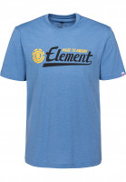 Element T-Shirts Signature niagaraheather Vorderansicht