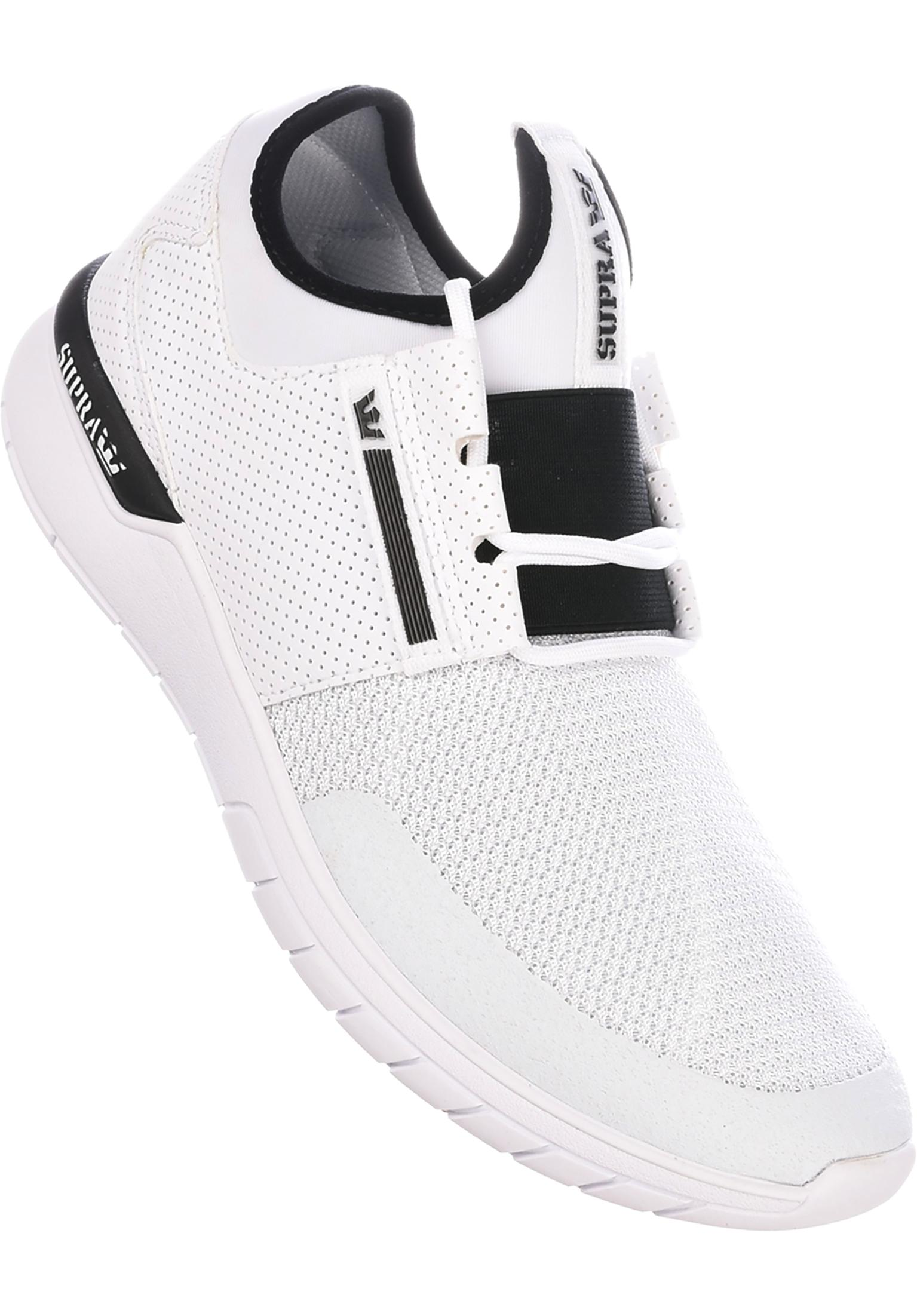 68d36fada0c3 Flow Run Supra All Shoes in white for Men