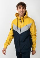 mazine-uebergangsjacken-duns-light-jacket-yellow-navy-vorderansicht-0504598