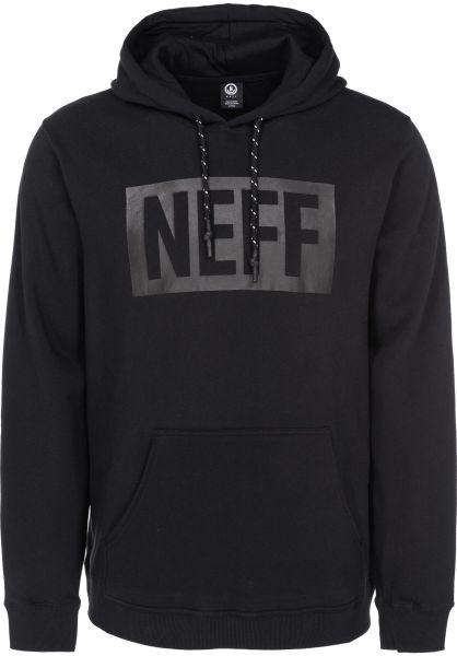 Neff Hoodies New World black vorderansicht 0444732