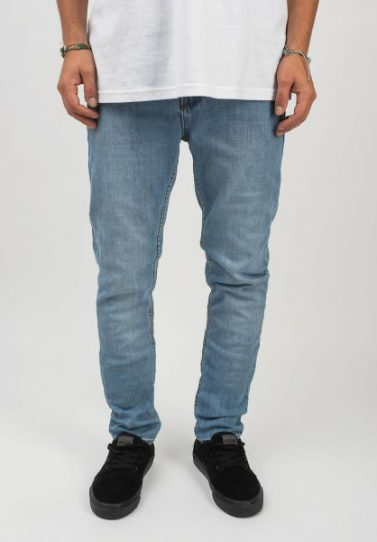 TITUS Jeans Skinny Fit blue-bleached vorderansicht 0108108