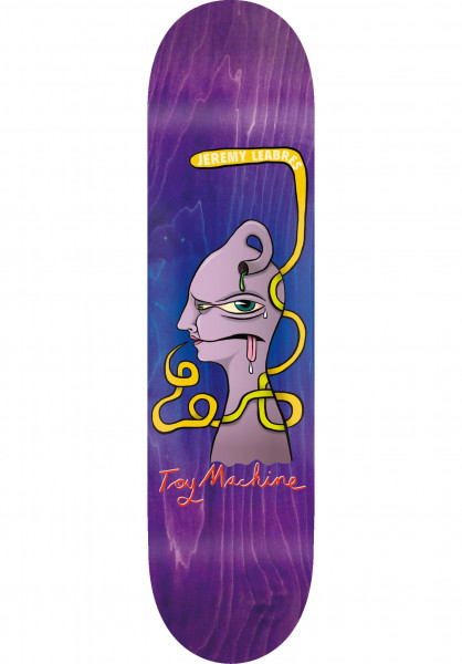 Toy-Machine Skateboard Decks Leabres Face natural Vorderansicht