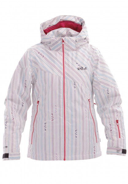 Rehall Snowboardjacken Coco-11-whitestripes white-striped Vorderansicht