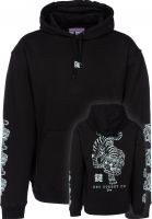 Key Street Hoodies Ornamental black vorderansicht 0445191