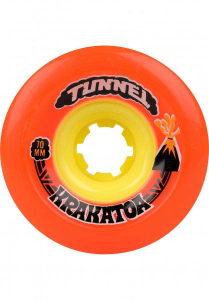 Tunnel Rollen Krakatoa 78A orange Vorderansicht