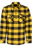 Dickies Hemden langarm Sacramento yellow Vorderansicht