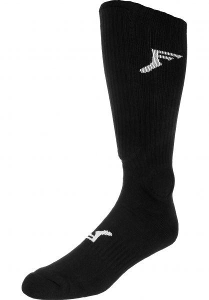 Footprint Insoles Knee High Painkiller Shin Large black Vorderansicht