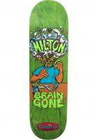 creature-skateboard-decks-milton-brain-gone-green-vorderansicht-0265999