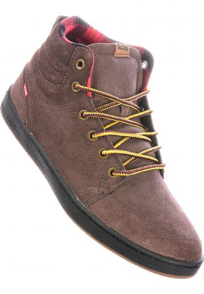 Globe Alle Schuhe GS Boot chestnut-plaid vorderansicht 0604660