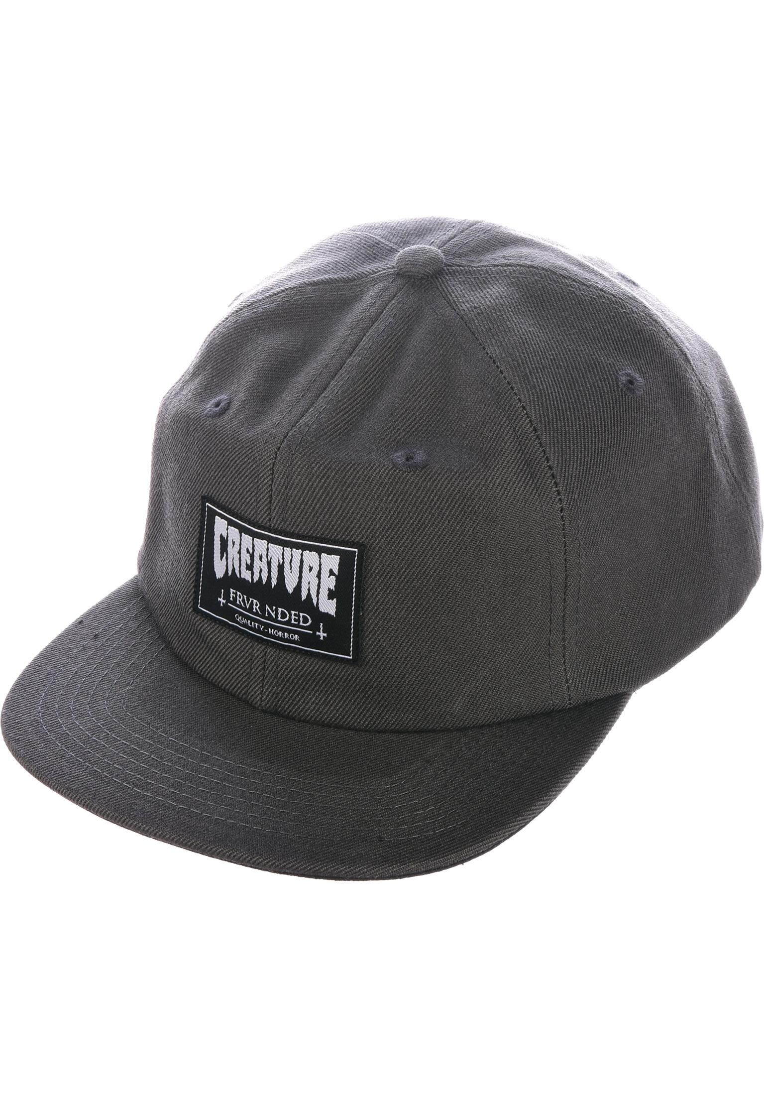 Frvr Nded Snapback Creature Caps in grey for Men  23e242e4ea9