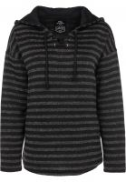 titus-hoodies-manou-grey-striped-vorderansicht