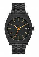 Nixon-Uhren-The-Time-Teller-allblack-surplus-Vorderansicht