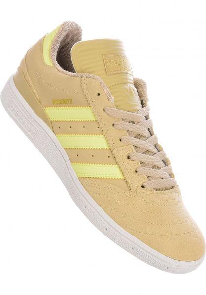 adidas-skateboarding Alle Schuhe Busenitz Pro savanna-yellowtint vorderansicht 0601574