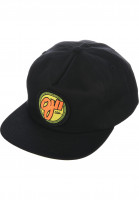 OJ Wheels Caps Elites Snapback black Vorderansicht