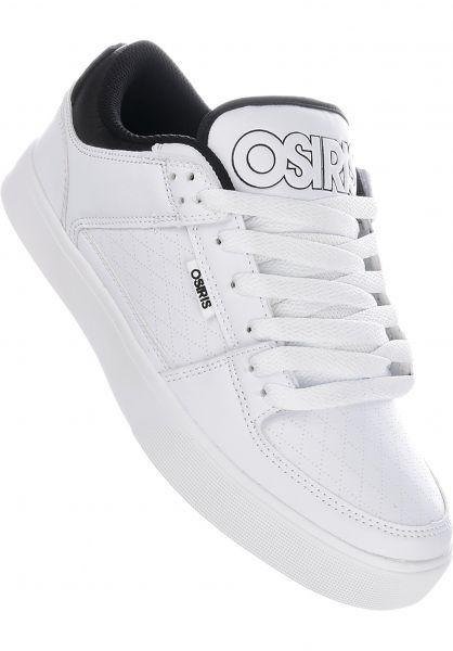 Osiris Alle Schuhe Protocol white-black-dia vorderansicht 0603252
