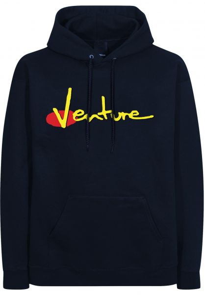 Venture Hoodies 90s navy-red-yellow-black vorderansicht 0445696