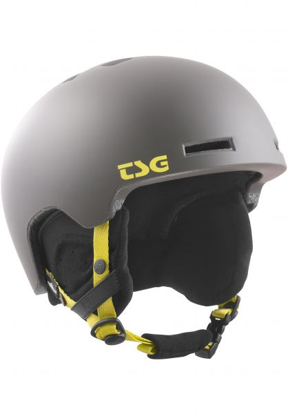 TSG Snowboardhelme Verticle Solid Color satin slate Vorderansicht 0223014