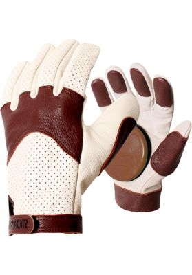 Landyachtz Burly Leather Slide Gloves