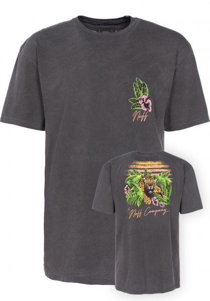 Neff T-Shirts Danger Paradise black Vorderansicht
