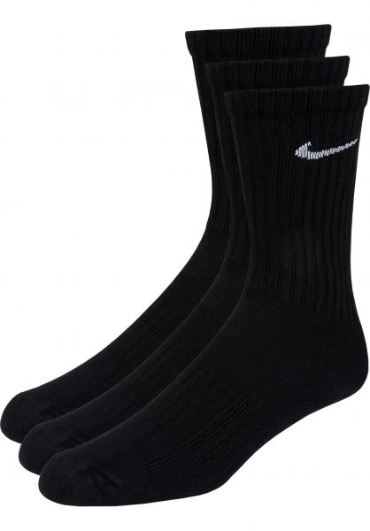 Nike SB Socken Every Day Cushion 3er Pack black-white vorderansicht 0632295