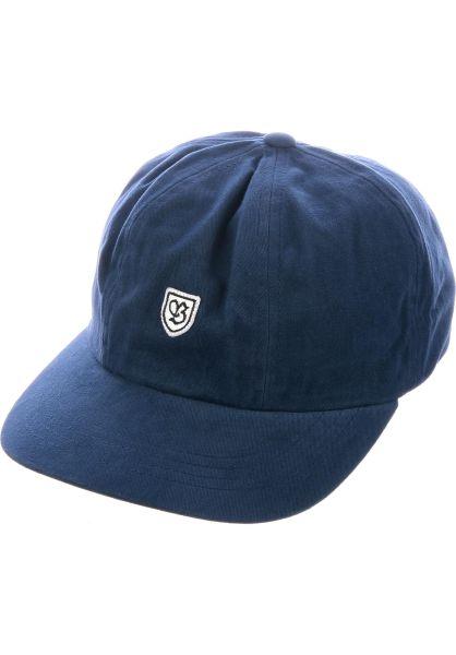 Brixton Caps B-Shield III washednavy vorderansicht 0565984 82de0ae74f4