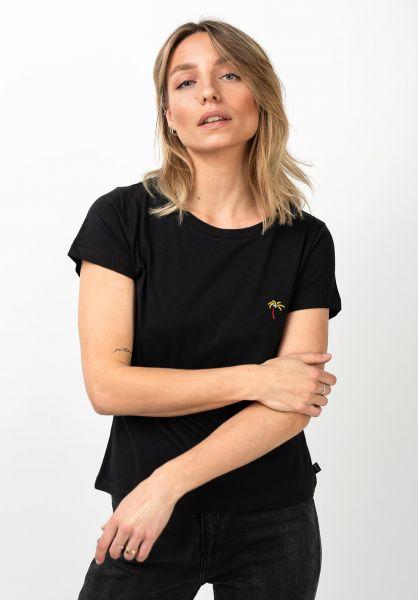 Forvert T-Shirts Ane black vorderansicht 0320105