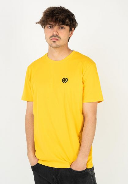 C1RCA T-Shirts Mini Icon gold vorderansicht 0323013