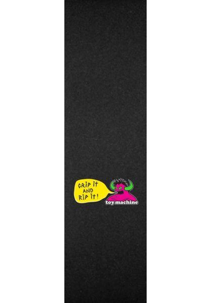 Toy-Machine Griptape Grip it and rip it black vorderansicht 0142293