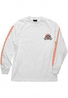 Bronson Speed Co. Longsleeves Winner Circle white Vorderansicht