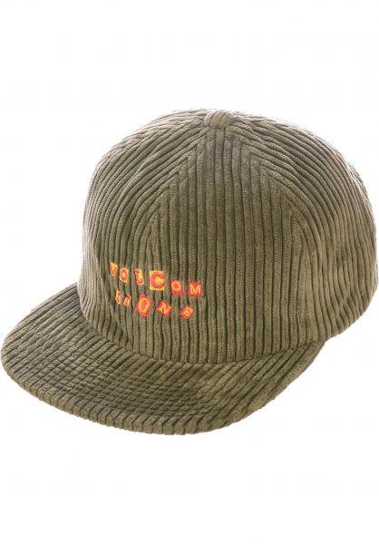 Volcom Caps Cut Copy military vorderansicht 0566777