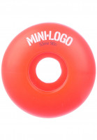 Mini-Logo Rollen C-Cut 90A red Vorderansicht
